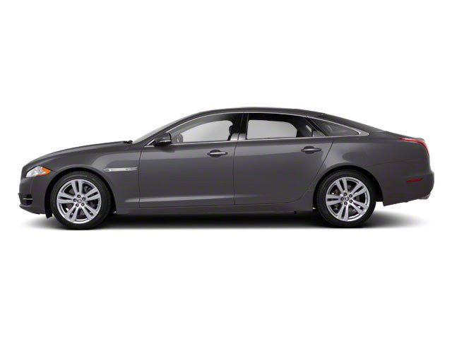 Pearl Grey 2011 Jaguar XJ Pictures XJ Sedan 4D L Supersport photos side view