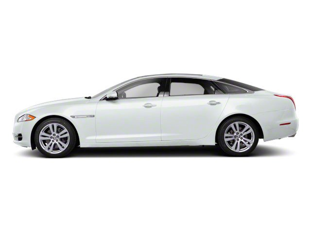 Polaris White 2011 Jaguar XJ Pictures XJ Sedan 4D L Supersport photos side view