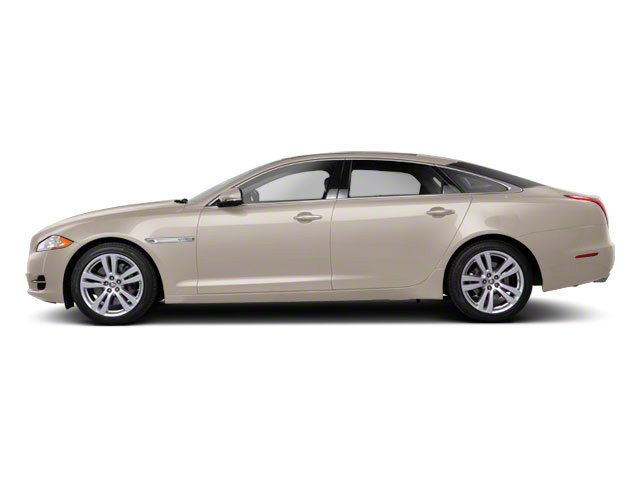 Porcelain 2011 Jaguar XJ Pictures XJ Sedan 4D L Supersport photos side view