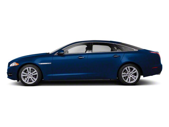 Spectrum Blue 2011 Jaguar XJ Pictures XJ Sedan 4D L Supersport photos side view