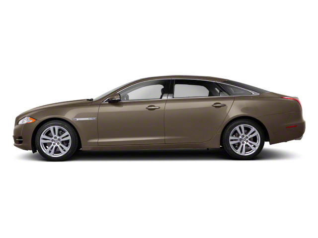 Vapour Grey 2011 Jaguar XJ Pictures XJ Sedan 4D L Supersport photos side view