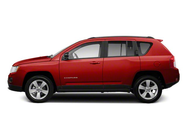 Deep Cherry Red Crystal Pearl 2011 Jeep Compass Pictures Compass Utility 4D Latitude 4WD photos side view