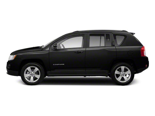 Brilliant Black Crystal Pearl 2011 Jeep Compass Pictures Compass Utility 4D Latitude 4WD photos side view