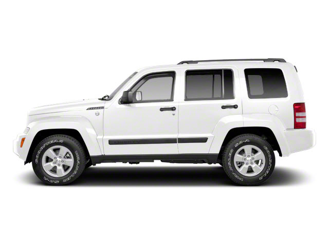 Bright White 2011 Jeep Liberty Pictures Liberty Utility 4D Limited 2WD photos side view
