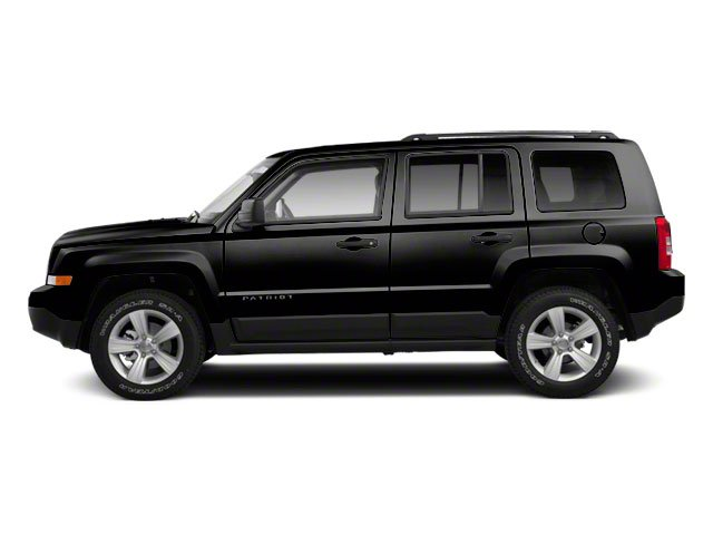 Brilliant Black Crystal Pearl 2011 Jeep Patriot Pictures Patriot Utility 4D Latitude X 2WD photos side view
