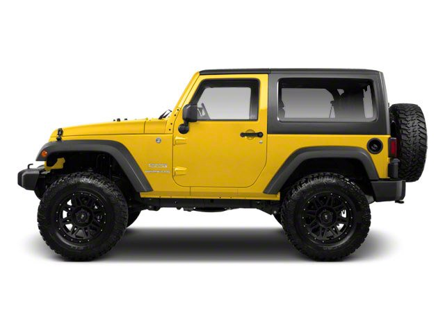 Detonator Yellow Clear Coat 2011 Jeep Wrangler Pictures Wrangler Utility 2D Rubicon 4WD photos side view