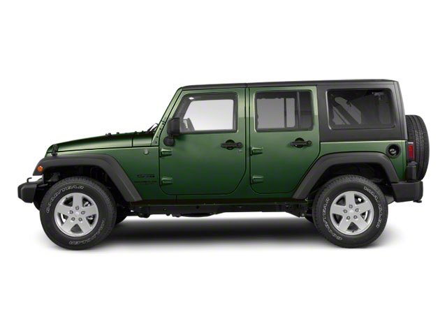 Natural Green Pearl 2011 Jeep Wrangler Unlimited Pictures Wrangler Unlimited Utility 4D Unlimited Sport 4WD photos side view