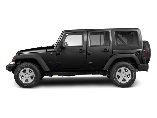 Black Clear Coat 2011 Jeep Wrangler Unlimited Pictures Wrangler Unlimited Utility 4D Unlimited Sahara 4WD photos side view