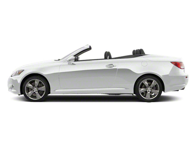 Tungsten Pearl 2011 Lexus IS 350C Pictures IS 350C Convertible 2D IS350 photos side view