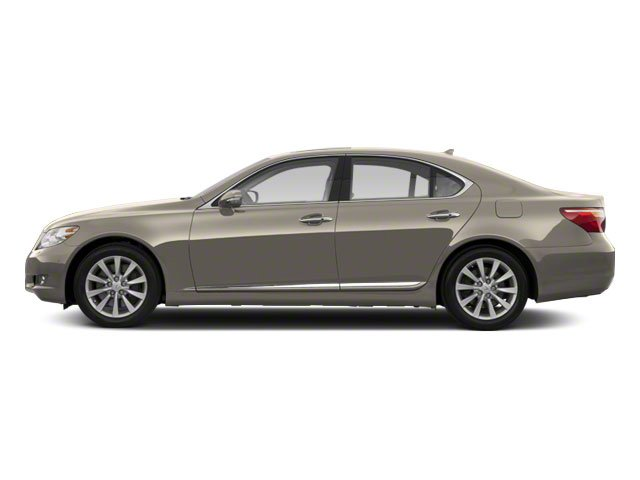 Satin Cashmere Metallic 2011 Lexus LS 460 Pictures LS 460 Sedan 4D LS460L photos side view