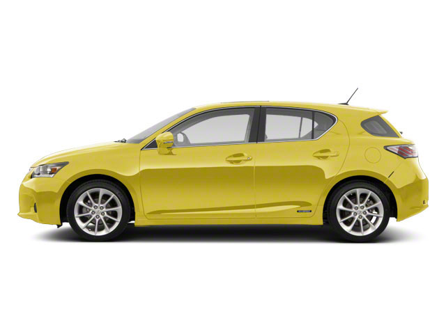 Daybreak Yellow Mica 2011 Lexus CT 200h Pictures CT 200h Hatchback 5D CT200h photos side view