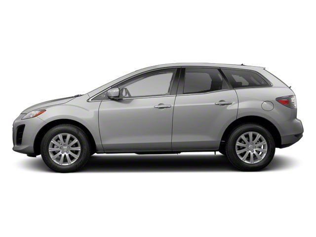 Liquid Silver Metallic 2011 Mazda CX-7 Pictures CX-7 Utility 4D s GT photos side view
