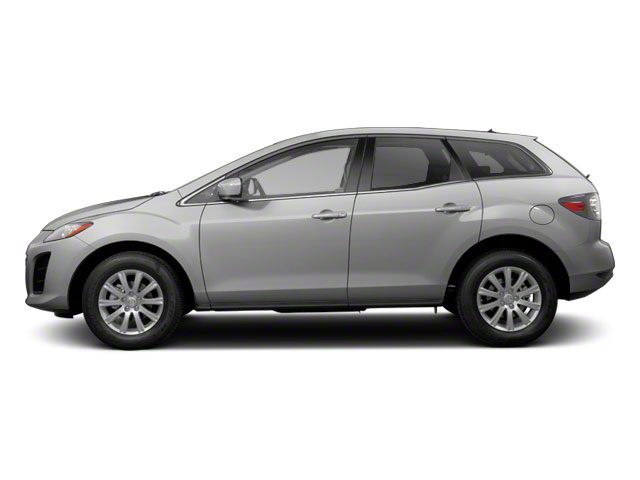 Liquid Silver Metallic 2011 Mazda CX-7 Pictures CX-7 Utility 4D i Sport 2WD photos side view