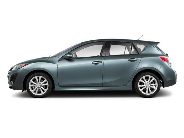 Gunmetal Blue Mica 2011 Mazda Mazda3 Pictures Mazda3 Wagon 5D s Sport photos side view