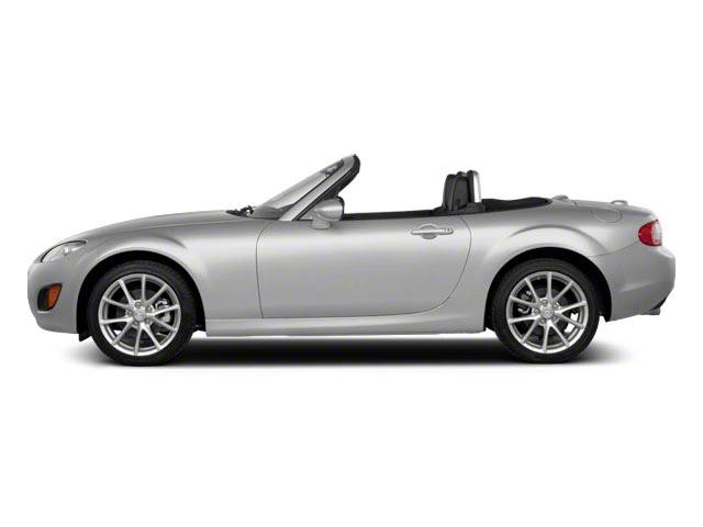 Liquid Silver Metallic 2011 Mazda MX-5 Miata Pictures MX-5 Miata Convertible 2D Touring photos side view