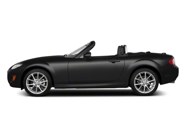 Brilliant Black 2011 Mazda MX-5 Miata Pictures MX-5 Miata Convertible 2D Touring photos side view