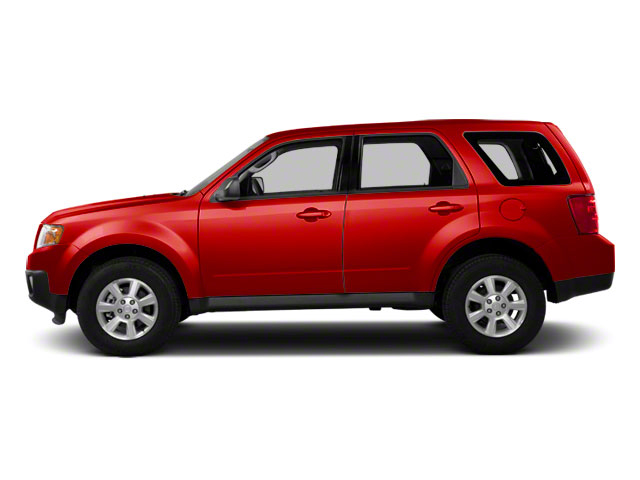 Sangria Red 2011 Mazda Tribute Pictures Tribute Utility 4D s 4WD photos side view