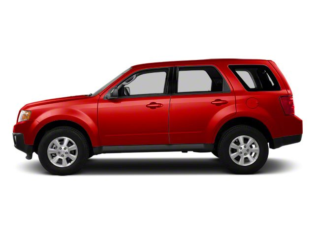Sangria Red 2011 Mazda Tribute Pictures Tribute Utility 4D i 4WD photos side view