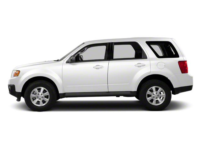 White Suede 2011 Mazda Tribute Pictures Tribute Utility 4D i 4WD photos side view