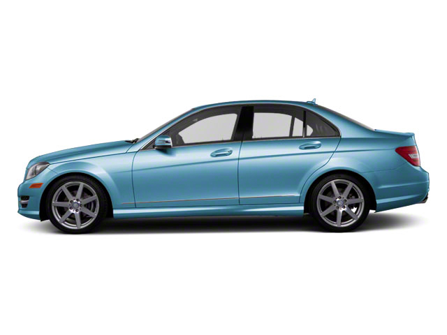Quartz Blue Metallic 2011 Mercedes-Benz C-Class Pictures C-Class Sport Sedan 4D C350 photos side view