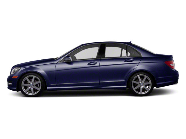 Capri Blue Metallic 2011 Mercedes-Benz C-Class Pictures C-Class Sport Sedan 4D C350 photos side view