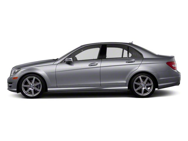Steel Grey Metallic 2011 Mercedes-Benz C-Class Pictures C-Class Sport Sedan 4D C350 photos side view