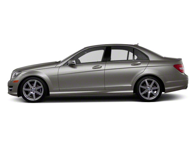 Palladium Silver Metallic 2011 Mercedes-Benz C-Class Pictures C-Class Sport Sedan 4D C350 photos side view