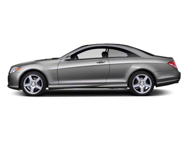 Iridium Silver Metallic 2011 Mercedes-Benz CL-Class Pictures CL-Class Coupe 2D CL63 AMG photos side view