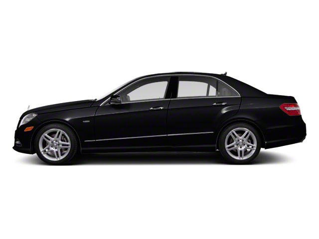 Black 2011 Mercedes-Benz E-Class Pictures E-Class Sedan 4D E550 AWD photos side view