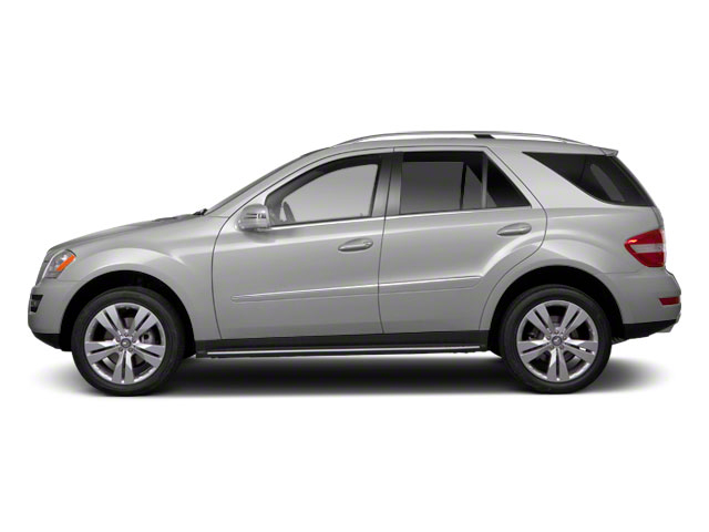 Iridium Silver Metallic 2011 Mercedes-Benz M-Class Pictures M-Class Utility 4D ML350 2WD photos side view