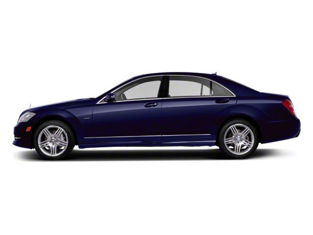 Designo Mystic Blue Metallic 2011 Mercedes-Benz S-Class Pictures S-Class Sedan 4D S600 photos side view