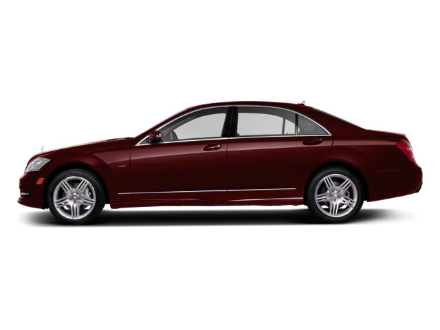 Designo Mystic Red Metallic 2011 Mercedes-Benz S-Class Pictures S-Class Sedan 4D S600 photos side view