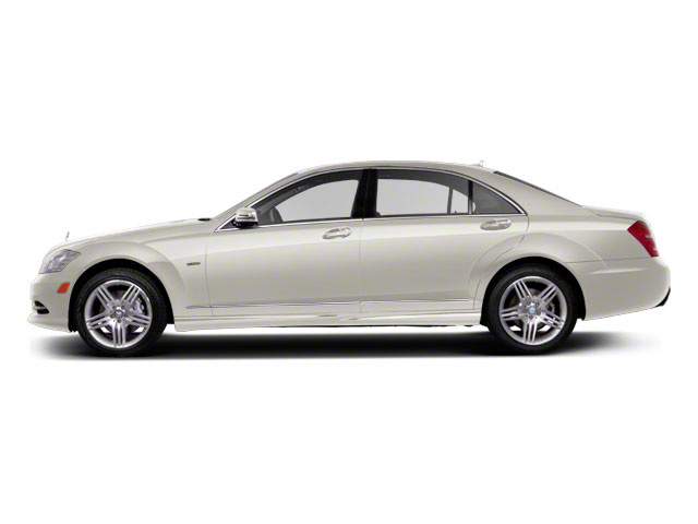 Diamond White Metallic 2011 Mercedes-Benz S-Class Pictures S-Class Sedan 4D S600 photos side view
