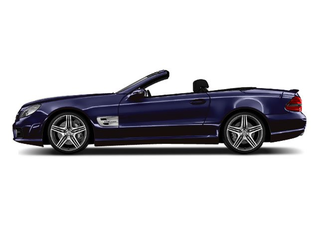 Designo Mystic Blue Metallic 2011 Mercedes-Benz SL-Class Pictures SL-Class Roadster 2D SL550 photos side view