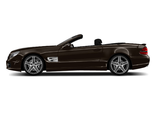 Designo Mocha Black Metallic 2011 Mercedes-Benz SL-Class Pictures SL-Class Roadster 2D SL550 photos side view
