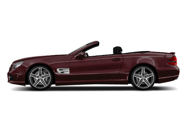 Designo Mystic Red Metallic 2011 Mercedes-Benz SL-Class Pictures SL-Class Roadster 2D SL550 photos side view