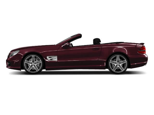 Designo Mauritius Red Metallic 2011 Mercedes-Benz SL-Class Pictures SL-Class Roadster 2D SL550 photos side view