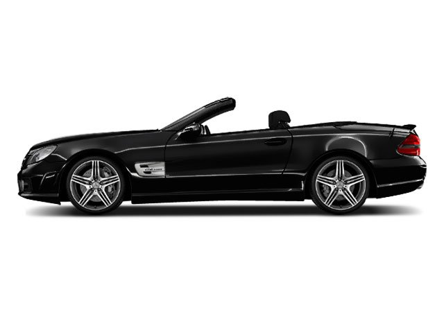 Black 2011 Mercedes-Benz SL-Class Pictures SL-Class Roadster 2D SL550 photos side view