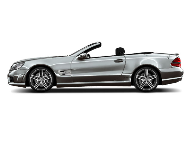 Designo Magno Alanite Grey Matte 2011 Mercedes-Benz SL-Class Pictures SL-Class Roadster 2D SL550 photos side view