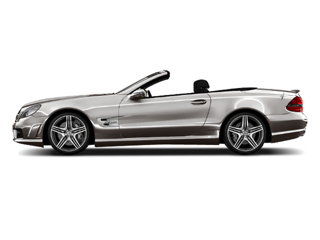 Designo Magno Cashmere White Matte 2011 Mercedes-Benz SL-Class Pictures SL-Class Roadster 2D SL550 photos side view