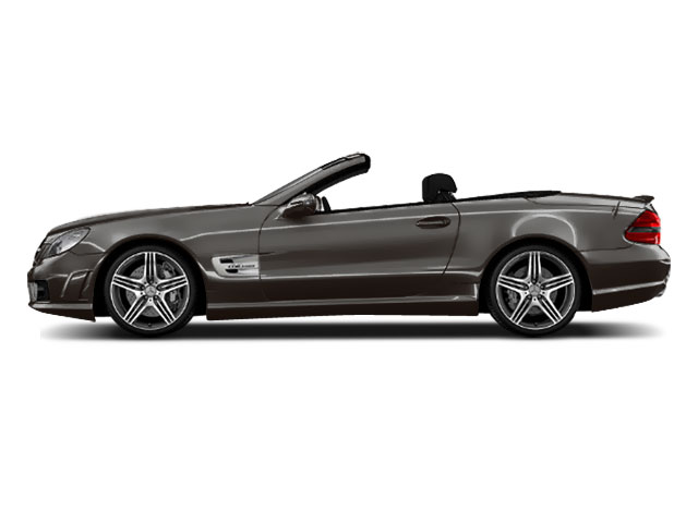 Designo Magno Platinum Matte 2011 Mercedes-Benz SL-Class Pictures SL-Class Roadster 2D SL550 photos side view