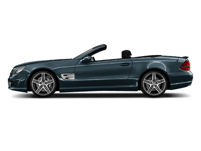 Quartz Blue 2011 Mercedes-Benz SL-Class Pictures SL-Class Roadster 2D SL550 photos side view