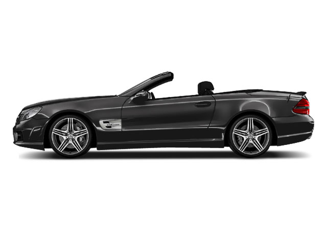 Steel Grey Metallic 2011 Mercedes-Benz SL-Class Pictures SL-Class Roadster 2D SL550 photos side view