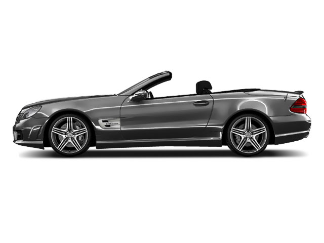 Iridium Silver Metallic 2011 Mercedes-Benz SL-Class Pictures SL-Class Roadster 2D SL550 photos side view