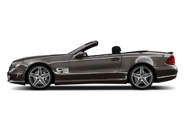Palladium Silver Metallic 2011 Mercedes-Benz SL-Class Pictures SL-Class Roadster 2D SL550 photos side view