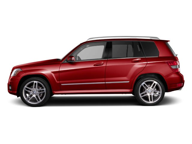 Barolo Red Metallic 2011 Mercedes-Benz GLK-Class Pictures GLK-Class Utility 4D GLK350 2WD photos side view
