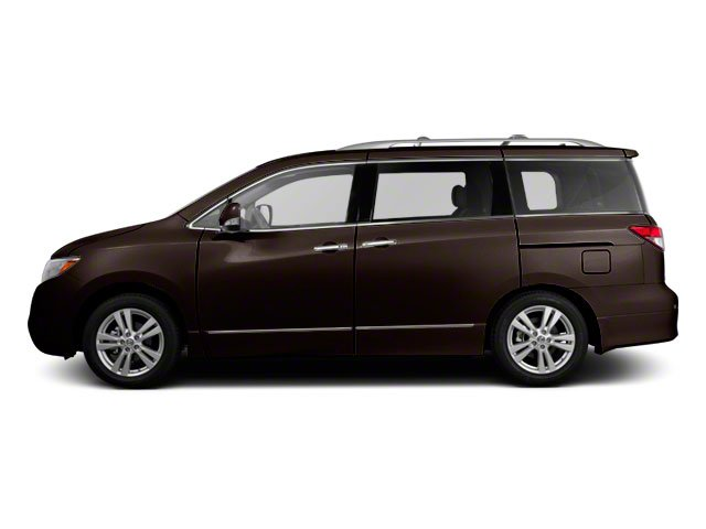 Dark Mahogany 2011 Nissan Quest Pictures Quest Van 3.5 SL photos side view
