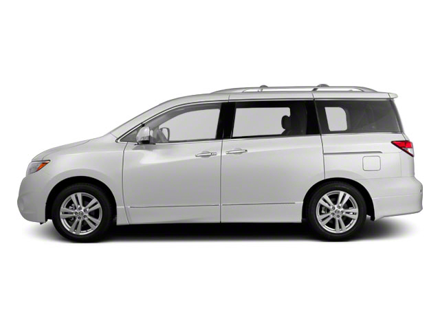 White Pearl 2011 Nissan Quest Pictures Quest Van 3.5 SL photos side view