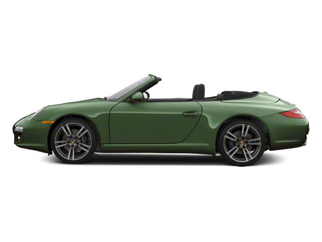 Porsche Racing Green Metallic 2011 Porsche 911 Pictures 911 Cabriolet 2D S photos side view