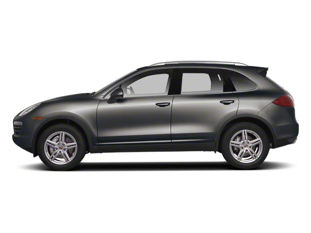 Meteor Gray Metallic 2011 Porsche Cayenne Pictures Cayenne Utility 4D AWD (V6) photos side view